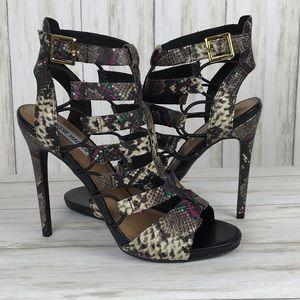 Steve Madden Prefix Multi Snake Dress Sandals.